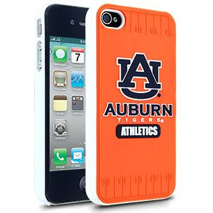iPhone 4 4S Auburn Tigers Faceplate Protective Hard Case Cover NCAA