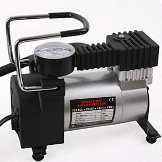 Portable 12 Volt Electric Air Compressor Air Pump Tires Bicycle and