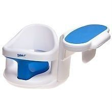 Tub Side Baby Bath Tub Side Ring Swivel Seat Padded Arm Rest