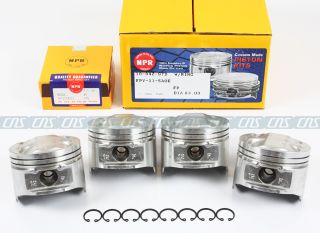 01 02 03 04 05 1 8L Mazda Miata MX5 Pistons Rings Kit BP05 Ve