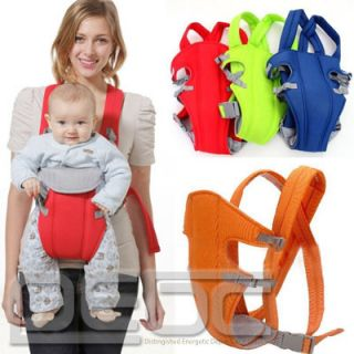 Newborn Baby Carrier Infant Comfort Backpack Sling Wrap Gear 4 Colors