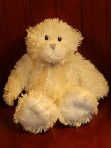 12 First Impressions White Teddy Bear Stuffed Animal Plush Baby Toy