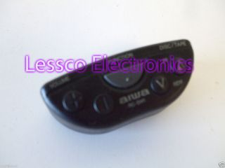 SW2 Steering Wheel Remote for Aiwa Brand Car Audio Components
