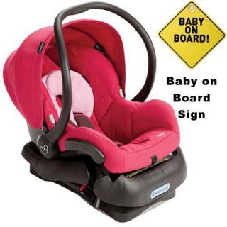 Maxi Cosi IC099BGW Mico Infant Car Seat w Baby on Board Sign Sweet
