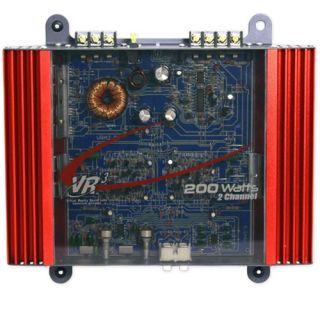Channel 200 Watt 2 Ohm MOSFET Power Car Audio Subwoofer Amplifier