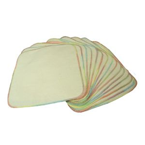 Unbleached 100 Cotton Flannel Cloth Baby Wipes