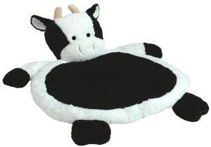 31 inch Cow Baby Infant Plush Stuff Animal Sleep Nap Play Mat Playmat