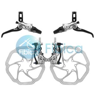 2013 SRAM Avid Elixir X0 Trail 4 Piston Silver Hydraulic Disc Brake