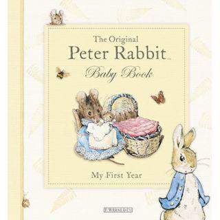 New Peter Rabbit Baby Record Memory Book Boy Girl Gift