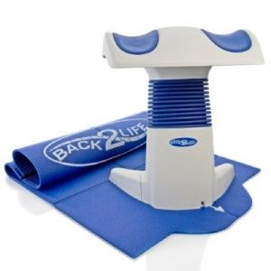 BACK2LIFE with Tony Little Back Care System with Comfort Mat Display