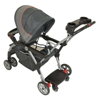 Baby Trend Sit N Stand Deluxe Double Stroller Vanguard SS74740 New