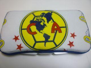 Baby Wipes Case Mexican Soccer Team Las Aguilas Del America Handmade