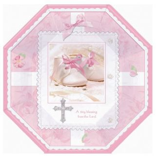 Tiny Blessings Girls Baby Shower Party Supplies Plates
