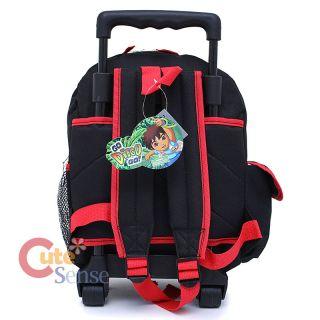 Go Diego Go School Roller Bag Toddler Rolling Backpack 4