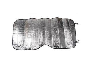 Auto Car Windshield Front Window Visor Cover Sun Shade Sunshade Silver