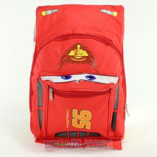 Disney Pixar Cars McQueen Shaped 15 Backpack   Large Book Bag