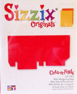 Sizzix Lg Red Dies New Rare Will Combo Ship Sun, Tags, Baby Carriage