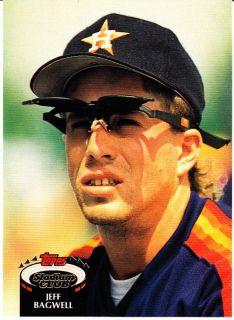 1992 Topps Stadium Club Jeff Bagwell Astros Mint Card
