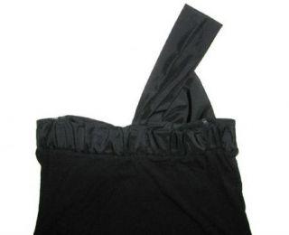Bailey 44 Little Black Knit Dress w Satin Bow XS