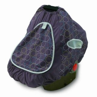 Summer Brand Infant Baby Shade Infant Car Seat Cover Blue