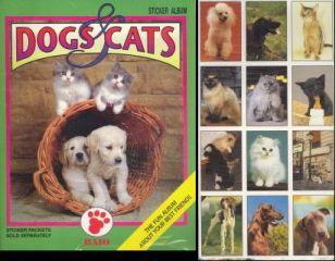 DOGS CATS BAIO FACTORY ALBUM STICKER SET ALBUM