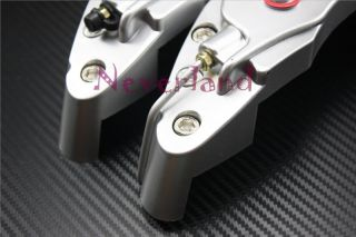 Universal Disc Brake Caliper Covers Brembo Look 3D for Auto Car