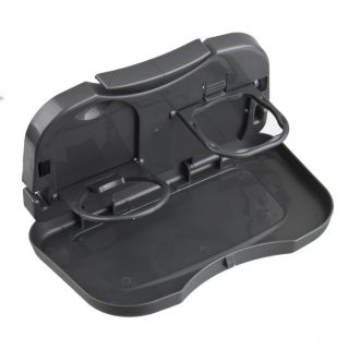 Folding Food Car Back Seat Drink Cup Bottle Tray Holder