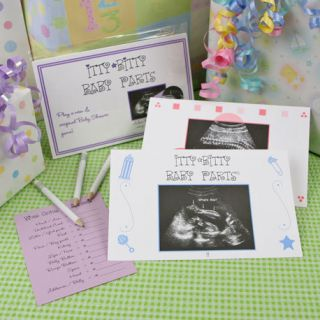 Itty Bitty Baby Parts© Ultrasound Baby Shower Game