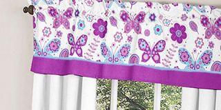 Purple Turquoise White Girl Baby Bedding Crib Set JoJo Designs