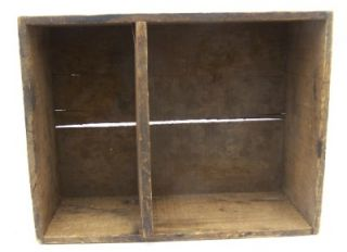 Antique Rumford Baking Powder Dove Tail Box with Divider Makes A Great