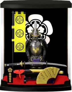 New Samurai Warrior Mini Armor Oda Nobunaga Japanese Historical Figure