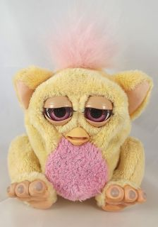 Furby Baby Toy Tiger Electronics Interactive Peach Pink Furby 5 5 2005