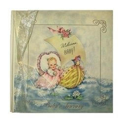 Terra Traditions Baby Record Book Welcome Baby