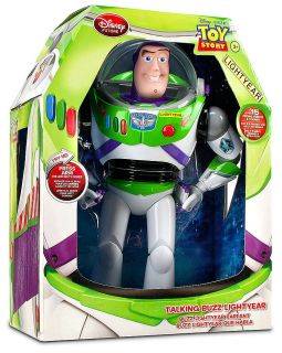 Disney Toy Story Buzz Lightyear Talking Doll Action Figure Space