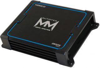 New Autotek M25001 2500W Class D Mono Car Audio Amplifier Amp 2500
