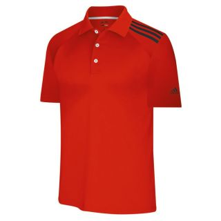 Adidas Golf 2011 ClimaCool 3 Stripes Soft Jersey Polo