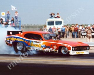 Funny Car Photo Ed McCulloch Drag Racing Bakersfield 1976 NHRA