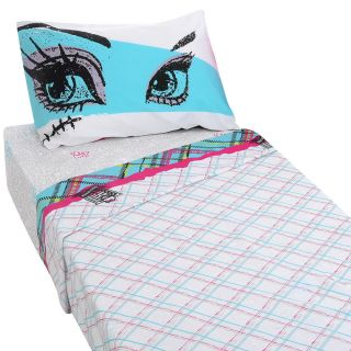 Monster High Twin Sheet Set New Bedding Pillow Case