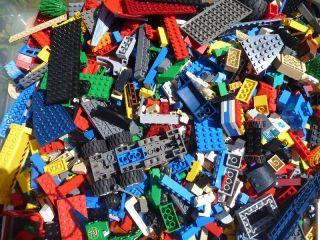 LEGO 1000 Bricks Blocks Baseplates pieces City Bulk Lot K13a