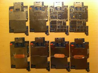 Balk of 8 iPhone 3G 3GS Motherboard Logic Board