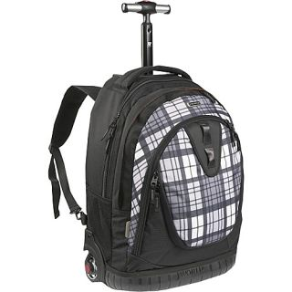 an image to enlarge j world drake laptop rolling backpack tartan grey