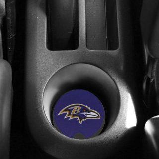 Baltimore Ravens 2 Pack Neoprene Car Coasters   Purple