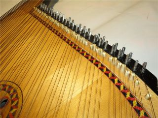 Traditional Ukrainian Bandura 55 Strings Original Folk Instrument for
