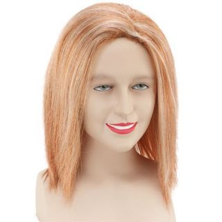 Fancy Dress Party Costume Carnival Female Ginger Hair Wig Straight Red