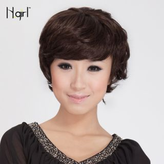 Short Bob Wig Long Side Bang Bob Style Wig Hot Synthetic Hair Party