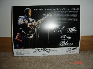 BB King Lucille Gibson Limited Edition Guitar