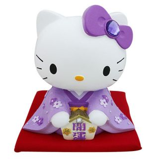 Sanrio Japan Hello Kitty Fortunate Ceramic Coin Bank