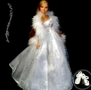 New Princess Dress Fashion Gown for Barbie Doll A971