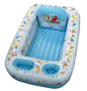 Sesame Street Baby Toddler Safty Bath Snug Tub Bathtub