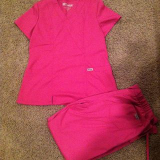 Barco Greys Anatomy Scrub Set Size Medium WomenS